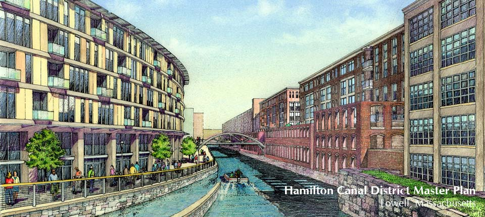 Hamilton Canal District Master Plan, Lowell MA